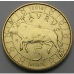 SAN MARINO 5€ 2018 - Zodiac - Taurus