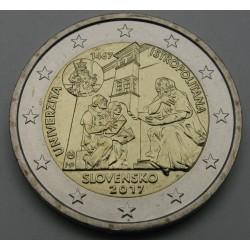 SLOVAŠKA 2€ 2017 - Academia Istropolitana